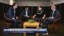 Maradona con los Protagonistas | Azteca Deportes