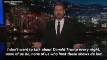 'I Don't Want To Talk About Trump Every Night' Says Jimmy Kimmel After Trump's Terrible Day