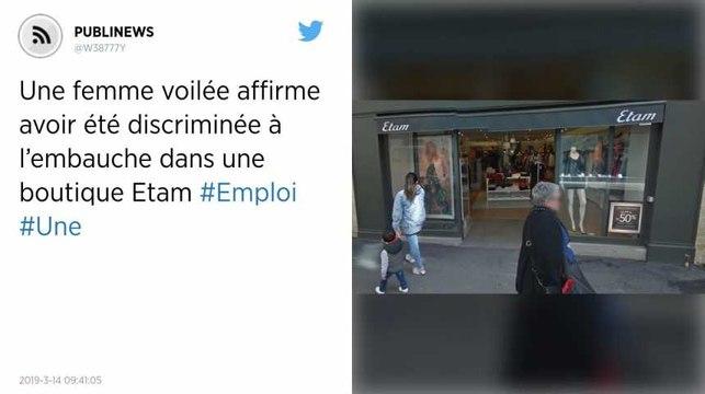 Une femme voilée affirme avoir été discriminée à l'embauche dans une boutique Etam