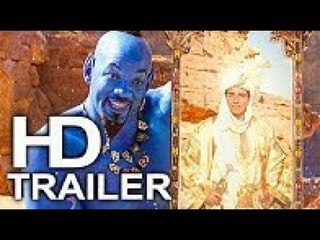 ALADDIN (FIRST LOOK - Trailer #3 NEW) 2019 Will Smith Disney Live Action Movie HD