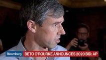 Beto O'Rourke Announces 2020 White House Bid