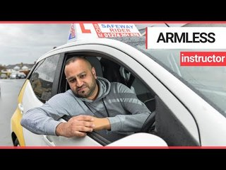 Man born with one arm fought against the odds to become driving instructor | SWNS TV