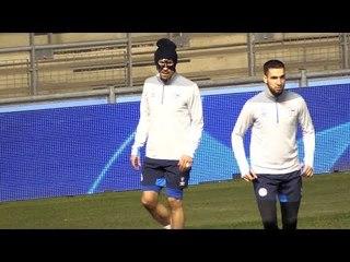Schalke Train Ahead Of Manchester City Champions League Clash
