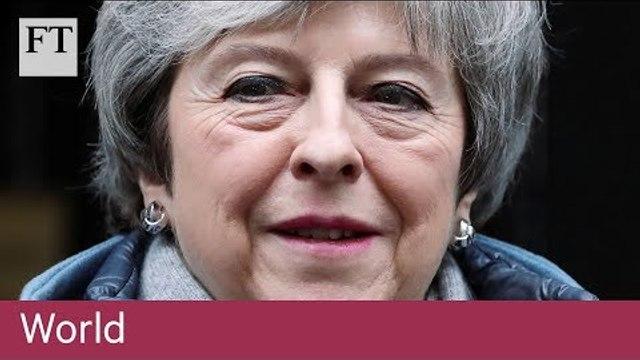 Theresa May says she 'profoundly' regrets Brexit loss