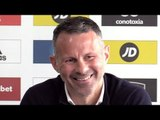 Wales Manager Ryan Giggs Makes Squad Announcement - Full Press Conference