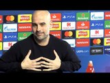 Pep Guardiola Full Pre-Match Press Conference - Manchester City v Schalke - Champions League