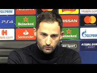 Man City 7-0 Schalke (Agg 10-2) - Domenico Tedesco Post Match Press Conference - Champions League