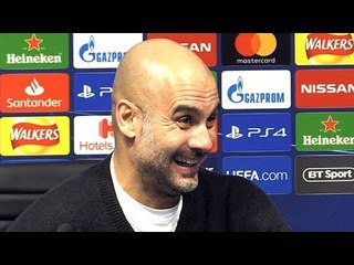 Man City 7-0 Schalke (Agg 10-2) - Pep Guardiola Full Post Match Press Conference - Champions League