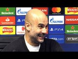 Man City 7-0 Schalke (Agg 10-2) - Pep Guardiola Full Post Match Press Conference - Champions League
