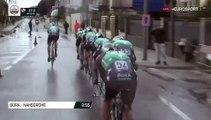 Grosse collision entre un spectateur et deux coureurs sur le Tirreno Adriatico