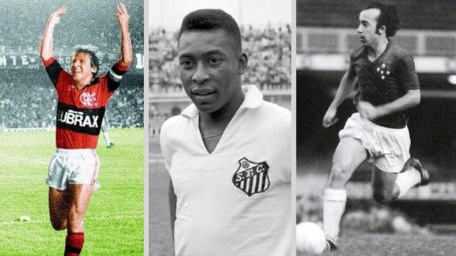 Veja os maiores artilheiros da história de cada clube da Série A