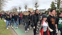 La Flèche. Les lycéens manifestent pour le climat