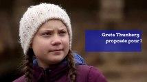 Greta Thunberg proposée pour le prix Nobel de la paix 2019