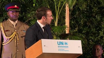 Nairobi - Ouverture de l'Assemblée des Nations Unies pour l'Environnement | Emmanuel Macron