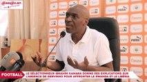 Eliminatoires CAN 2019 : Le sélectionneur Ibrahim Kamara donne des explications sur l'absence de Gervinho pour affronter le Rwanda et le Libéria