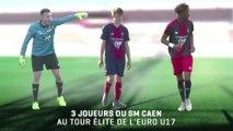3 Caennais au tour élite de l'Euro U17