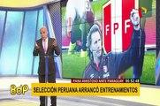 Selección Peruana : continúan entrenamientos de cara a amistosos FIFA
