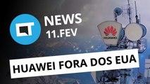 Vídeos offline em Full HD no YouTube; Huawei fora dos EUA e + [CT News]