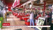 C'est le premier supermarché de la région ouvert 24h/24. Après Paris, Lyon, Nice (et maintenant Marseille et Montpellier), le groupe Casino a choisi d'ouvrir son 3ème magasin en continu de province à Mérignac-Arlac.