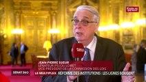 Institutions: « Il n'y a pas trop de parlementaires en France » estime Jean-Pierre Sueur