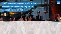 Thomas Berthelot, batteur de la métropole lilloise, participera à Rockin'1000 au stade de France