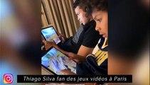 Thiago Silva fan de jeux vidéo à Paris, Thiago Maia fait bien la cuisine à Lille
