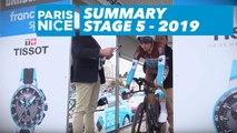 Summary - Stage 5 - Paris-Nice 2019