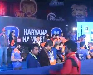 PWL 3 Day 11: Visuals of Haryana Hammers after the victory against Mumbai Maharatha