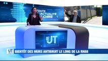A la Une : Des murs antibruit sur la RN 88 / 280 millions d'euros pour la rénovation urbaine à Saint-Etienne Métropole / Des consultations mobiles pour les jeunes consommateurs de drogue / Des sanctions lourdes pour l'Asse