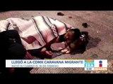 Llega a la CDMX otra Caravana de migrantes centroamericanos | Noticias con Francisco Zea