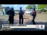 Inician búsqueda de migrantes secuestrados en Tamaulipas | Noticias con Ciro Gómez
