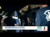 Bomberos realizan bloqueos nocturnos en la CDMX   Noticias con Francisco Zea