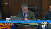 Arizona Senate Judiciary Committee approves bill loosening prohibition of guns on campus