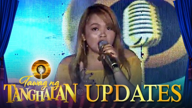 Annabel Dulatre conquers the stage, and defends the Golden Microphone! | Tawag ng Tanghalan Update