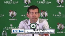 Brad Stevens On Jaylen Brown's Production Off The Bench For Celtics