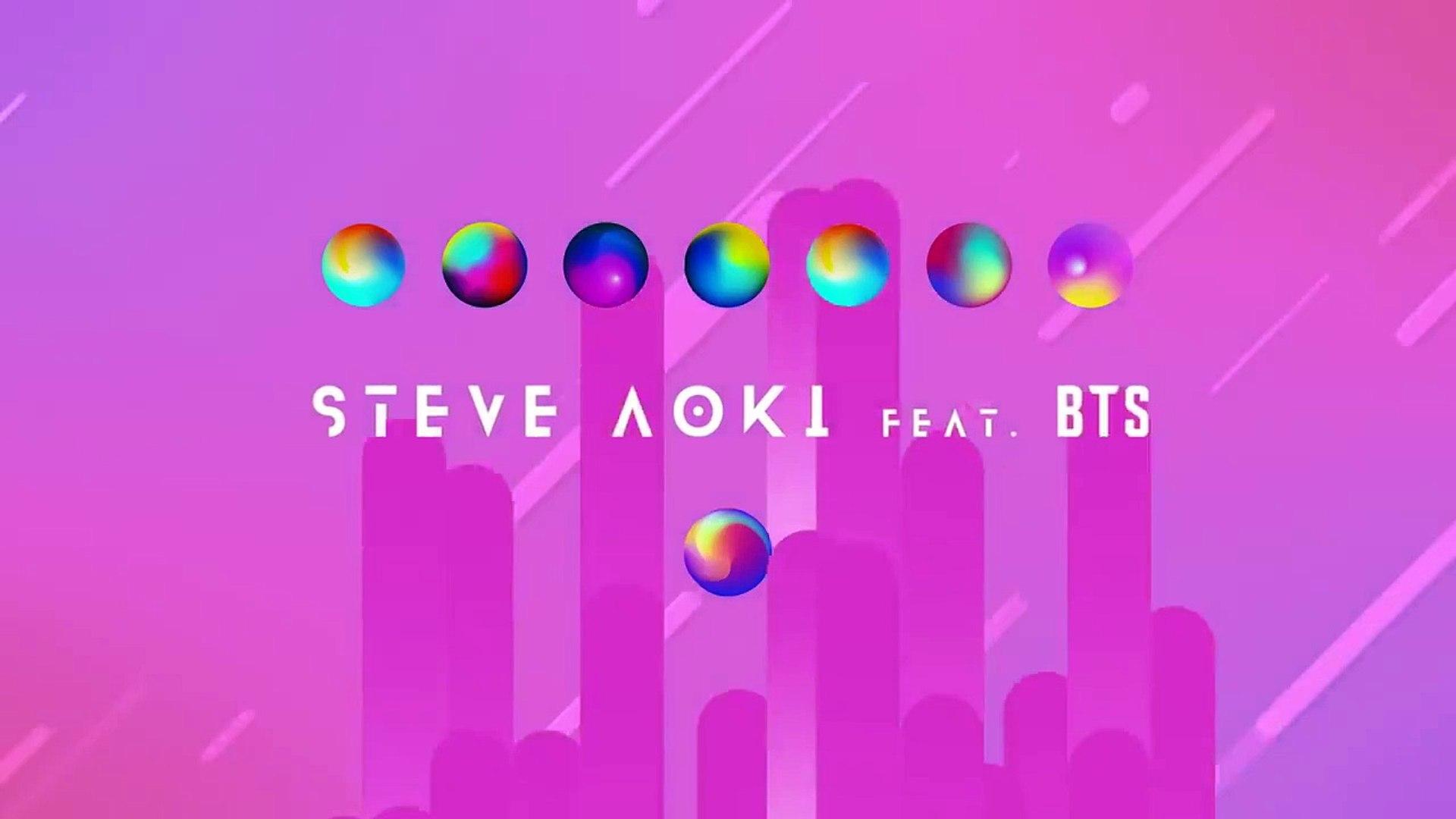 Steve Aoki Waste It On Me Feat Bts Lyric Video Ultra Music