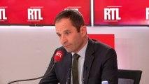 """Européennes : un vote PS """"est une voix perdue pour la gauche"""" dit Hamon sur RTL"""