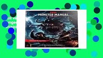 Full version  Monster Manual: A Dungeons   Dragons Core Rulebook (Dungeons   Dragons Core