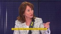 """Recours des ONG contre l'État: """"S'il y a une plainte à déposer, ce n'est pas contre la France, c'est contre les USA"""", estime Ségolène Royal"""