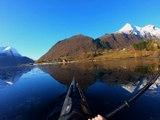 Majestic Views While Kayaking