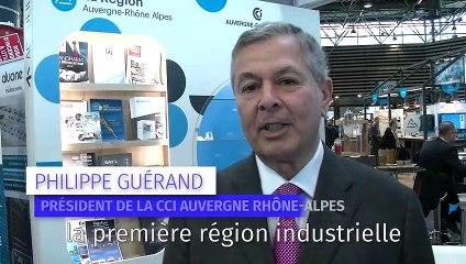 Industrie en Auvergne Rhône-Alpes : la CCI mobilisée