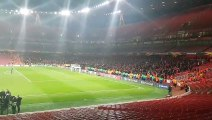 Football - Rennes OUT from the Europa League by Arsenal, the Rennes public  thanked his team
