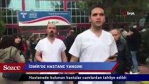 İzmir Tepecik Eğitim ve Araştırma Hastanesi'nde yangın