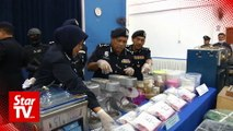 Self-made 'chemist' arrested in drug raid