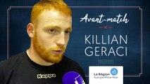 Killian Geraci : « Il faut qu'on retrouve la victoire »