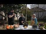 Rreze Dielli 14 Mars 2019 - Nënë Xheja dhe nënë Tushi gatuajnë ballokumen