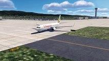 Ethiopia Plane Crash, Ethiopia Airlines B737 MAX Crashes After Takeoff, Addis Ababa Airport [XP11]
