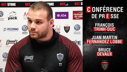 Conférence de presse d'avant-match J19 Toulon-Montpellier