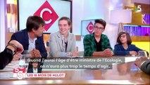 """""""La place n'est pas du tout facile"""" : quand des élèves s'imaginent ministre de l'Ecologie face à Nicolas Hulot"""