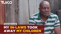 His Family in-law took away his children after his wife died
